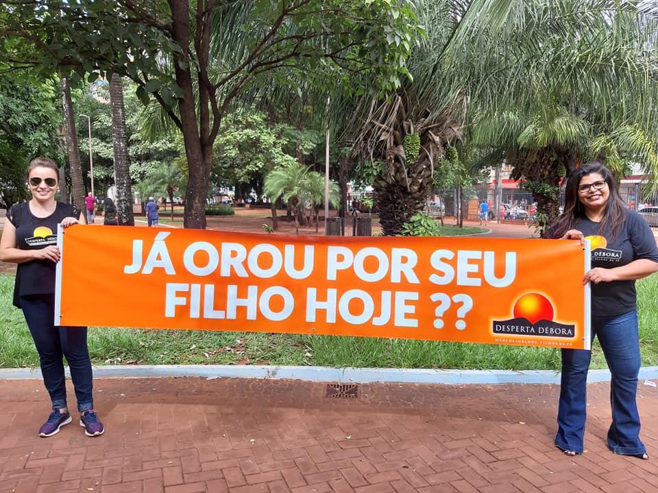 Atividades das Deboras de Campo Grande Desperta Debora parada Nacional
