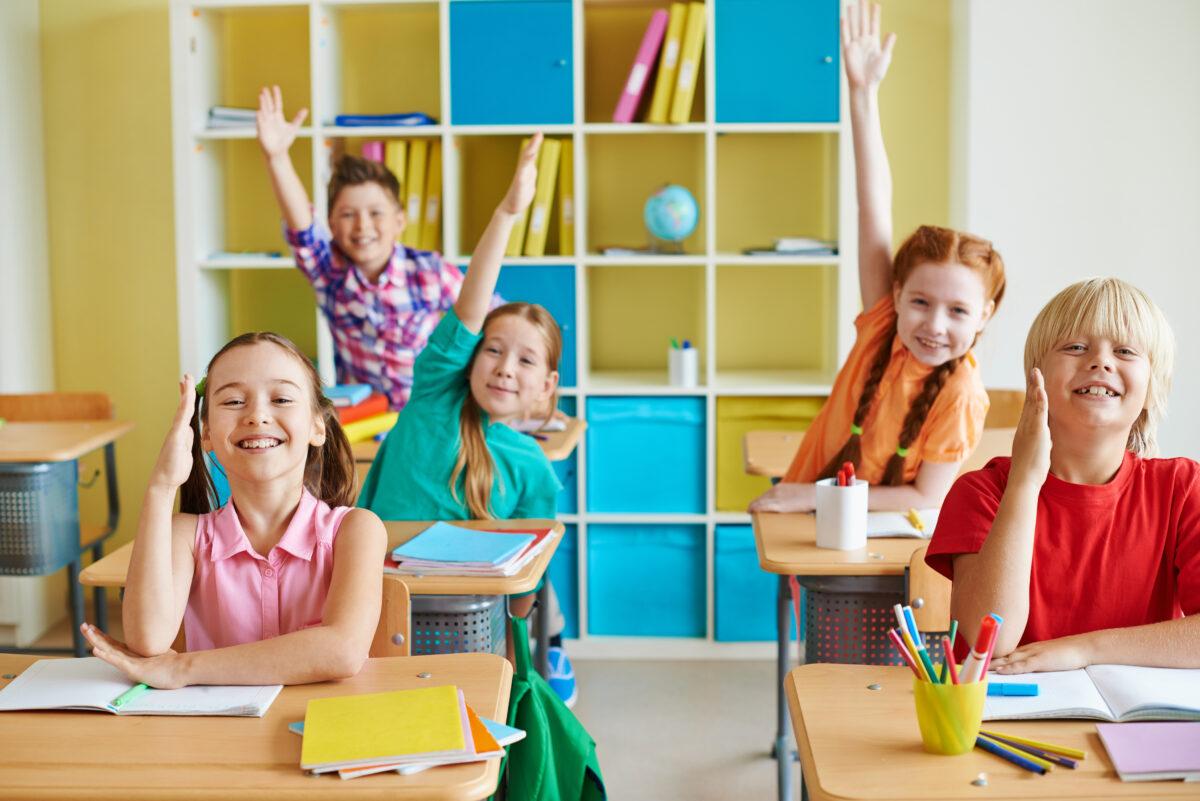 funny children classroom
